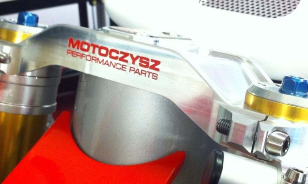 First Photos of the 2013 MotoCzysz E1pc 2013 MotoCzysz E1pc teaser 01