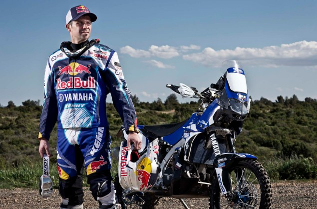 Cyril Despres Will Ride with Yamaha in the 2014 Dakar Rally Cyril Despres Yamaha Motor France 2014 Dakar Rally 10 635x418