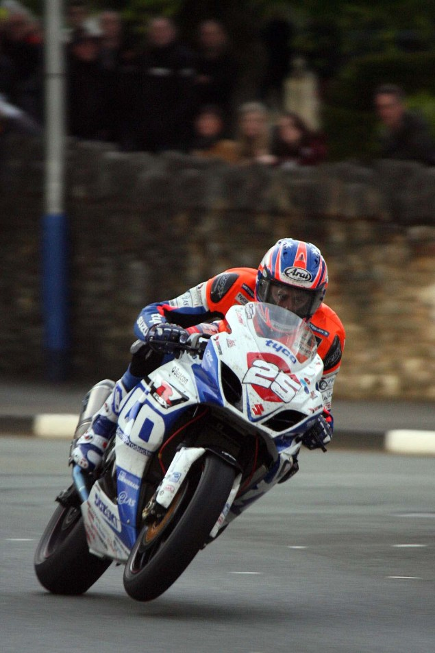 IOMTT: St. Ninians Crossroads with Richard Mushet Isle of Man TT Richard Mushet Josh Brookes 635x952