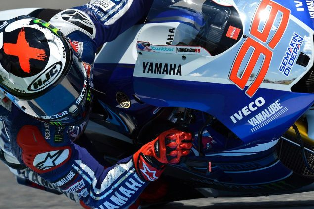 Monday Summary at Jerez: Of Forgotten Winners, Worried Yamahas, & New Found Optimism jorge lorenzo jerez motogp yamaha racing 635x423