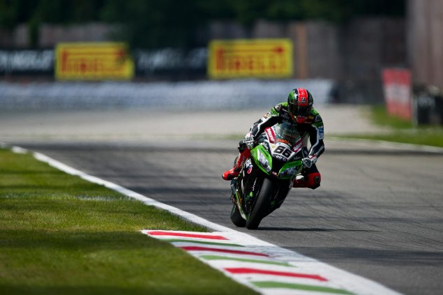 WSBK: Qualifying Results from Monza tom sykes kawasaki racing wsbk monza 635x423