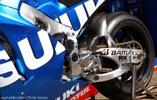XXX: 10 Photos of the Suzuki XRH 1 Testing at Catalunya 2015 Suzuki XRH1 MotoGP Catalunya Niki Kovacs 03