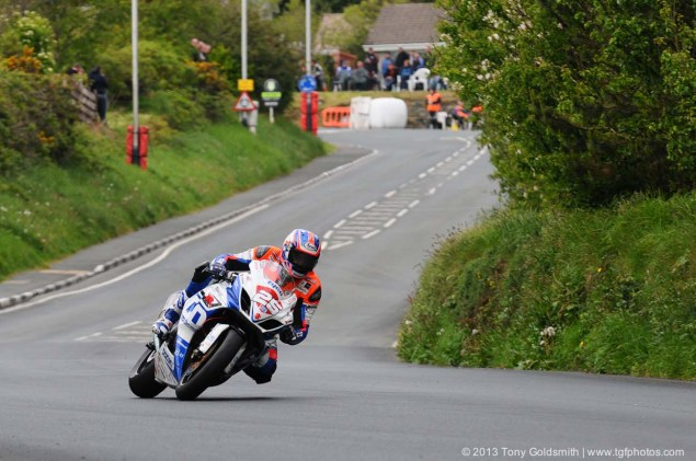 IOMTT: Glencrutchery Road with Tony Goldsmith Glencrutchery Road Isle of Man TT Tony Goldsmith 08 635x421