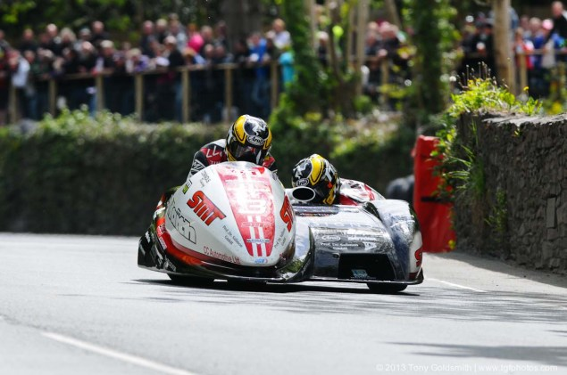 IOMTT: Glencrutchery Road with Tony Goldsmith Glencrutchery Road Isle of Man TT Tony Goldsmith 10 635x421
