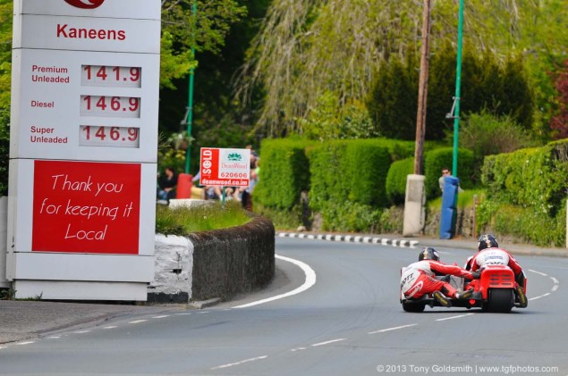 IOMTT: Glencrutchery Road with Tony Goldsmith Glencrutchery Road Isle of Man TT Tony Goldsmith 11 635x421