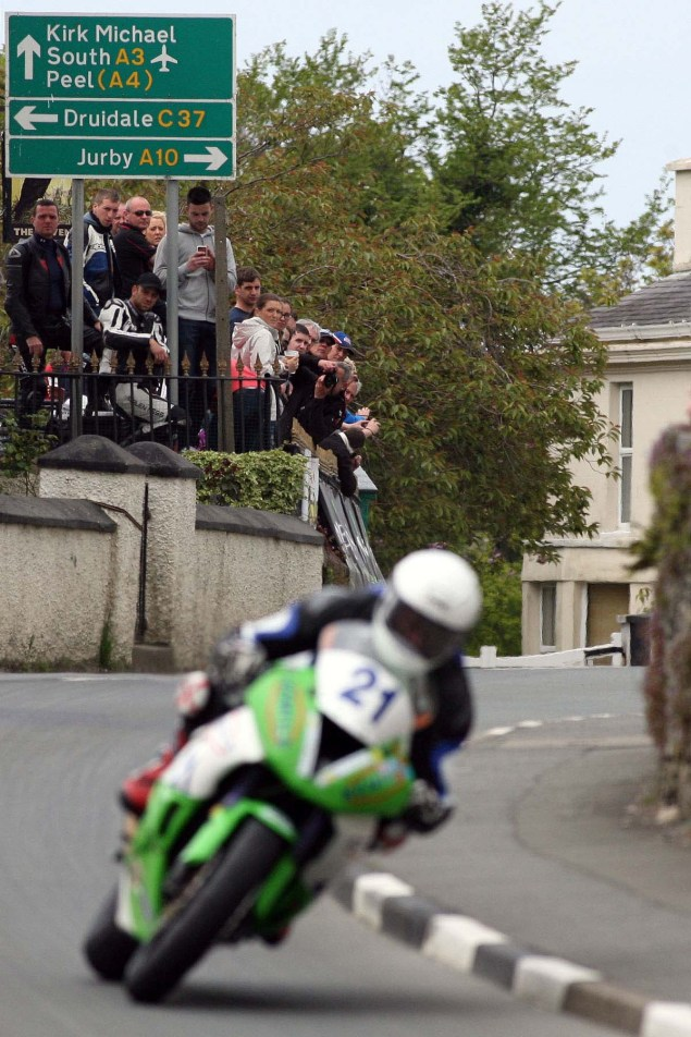 IOMTT: Ballaugh & Ballacrye with Richard Mushet Supersport Superstock Ballaugh Ballacrye Isle of Man TT Richard Mushet 06 635x952
