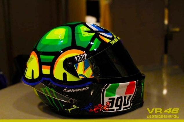 MotoGP: Valentino Rossis 2013 Mugello Helmet Valentino Rossi Mugello AGV Helmet 2013 01 635x423