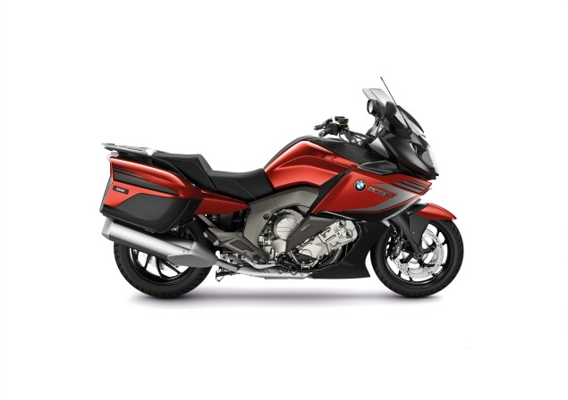 2014 BMW K1600GT Sport   Familiar, But Different 2014 BMW K1600GT Sport 02 635x448