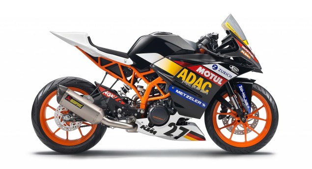 2014 KTM RC390 Cup   A Glimpse of Whats to Come 2014 KTM RC390 race bike unveil 15 635x345