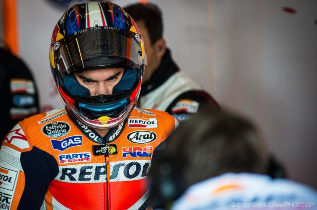 MotoGP: Dani Pedrosa Misses Qualifying, Uncertain to Race Friday Sachsenring German GP MotoGP Scott Jones 06 635x422