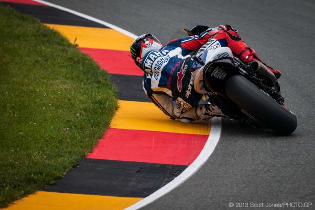 MotoGP: Update on Jorge Lorenzo Post Sachsenring Crash Friday Sachsenring German GP MotoGP Scott Jones 11 635x423