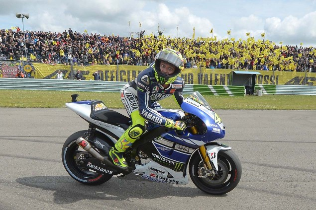 Caption This Photo: The Doctor is In Valentino Rossi Win Dutch TT Aseen MotoGP Yamaha Racing 05 635x423