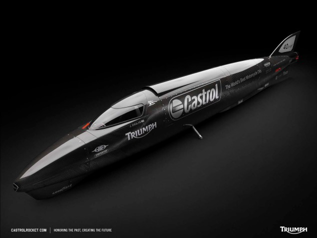 Castrol Rocket Makes a Bid on the 400 MPH Mark CastrolRocket 1600x1200 image 1 635x476