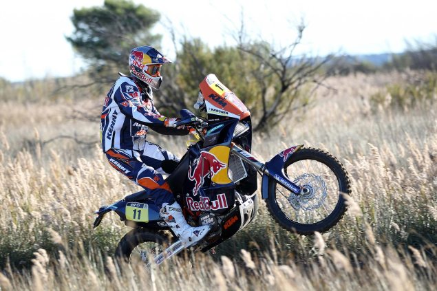 KTM Readying All New 2014 Dakar Rally Race Bike Ruben Faria KTM Dakar Rally 2013 635x423