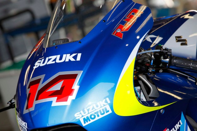 Photos: Suzuki MotoGP Team Testing at Motegi with RdP Suzuki Racing MotoGP Motegi test 22 635x423