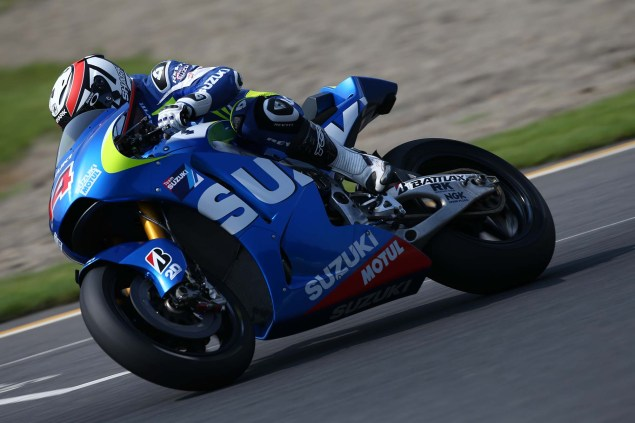 Photos: Suzuki MotoGP Team Testing at Motegi with RdP Suzuki Racing MotoGP Motegi test 40 635x423