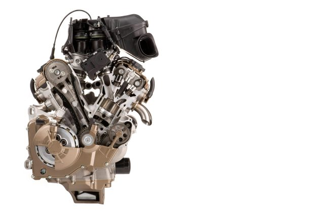 Aprilia Will Return to MotoGP in 2015 with Gresini Racing aprilia rsv4 factory engine motor cutaway 635x423