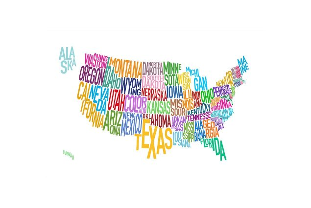 US Motorcycles Sales Decline 5.2% for the First Half of 2013 united states text map 2 635x425