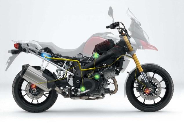 2014 Suzuki V Strom 1000 Details Emerge 2014 Suzuki V Strom 1000 details 04 635x423