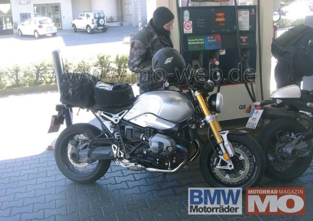 Spy Shots: BMW NineT Spotted in the Wild BMW NineT roadster spy photo 01 635x448