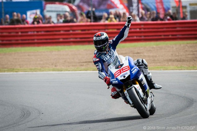 Rating the Riders of MotoGP: Jorge Lorenzo   9/10 Sunday Silverstone British GP MotoGP Scott Jones 06 635x422