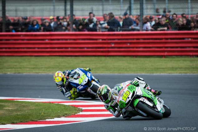 Monday Summary at Silverstone: Rossi in the Second Group, An Improving Bautista, & Aprilias CRT Sunday Silverstone British GP MotoGP Scott Jones 07 635x423