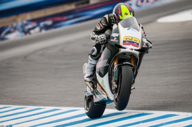 Yonny Hernandez Replacing Ben Spies for Rest of Season yonny hernandez laguna seca pbm motogp scott jones 635x423