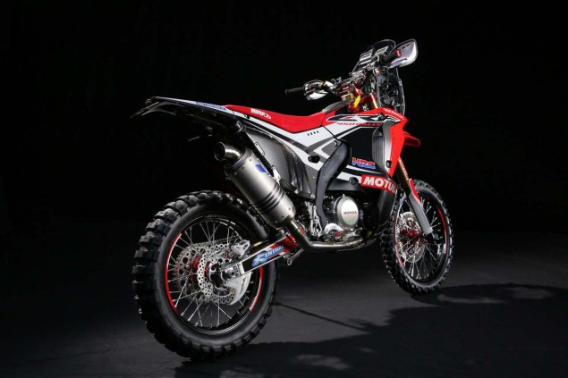 HRC Shows Off the 2014 Honda CRF450 Rally Race Bike 2014 Honda CRF450 Rally 13 635x423