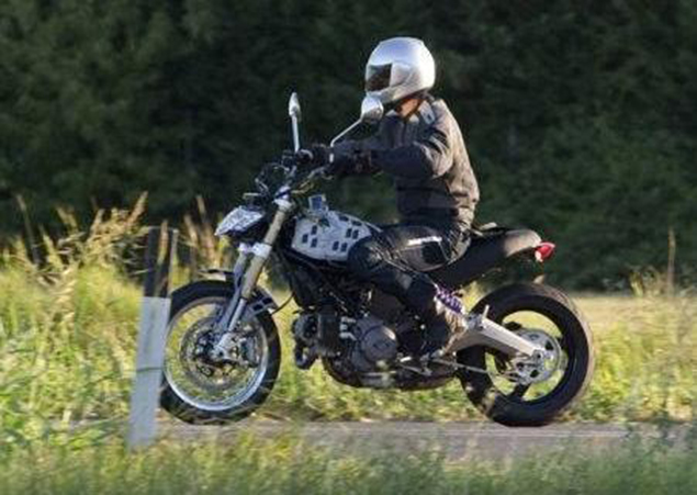 Are You The New Ducati Scrambler? 2014 ducati scrambler spy photo