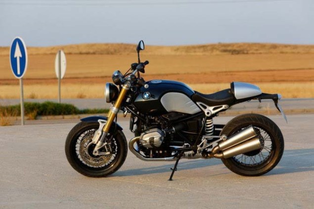 Leaked: Photos of BMWs 90th Anniversary Café Racer BMW NineT R Nine air cooled cafe racer leak 01