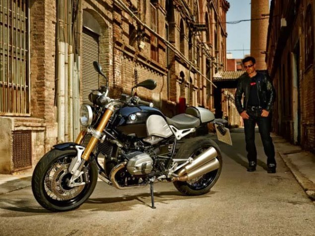 Leaked: Photos of BMWs 90th Anniversary Café Racer BMW NineT R Nine air cooled cafe racer leak 02