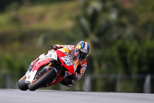 Sunday Summary at Sepang: Pedrosas Revenge, Lorenzos Valiant Defense, & History Made in Moto3 dani pedrosa sepang motogp repsol honda1 635x423