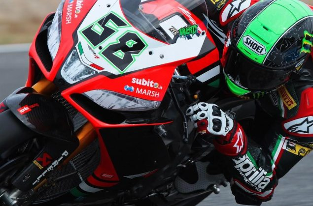 WSBK: Qualifying Results from Jerez eugene laverty wsbk jerez aprilia racing