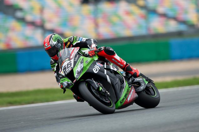 WSBK: Race Results for Race 1 at Magny Cours tom sykes magny cours wsbk kawasaki racing 635x423