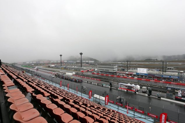 MotoGP: Scheduling Contingencies for a Foggy Japanese GP twin ring motegi fog motogp 635x423