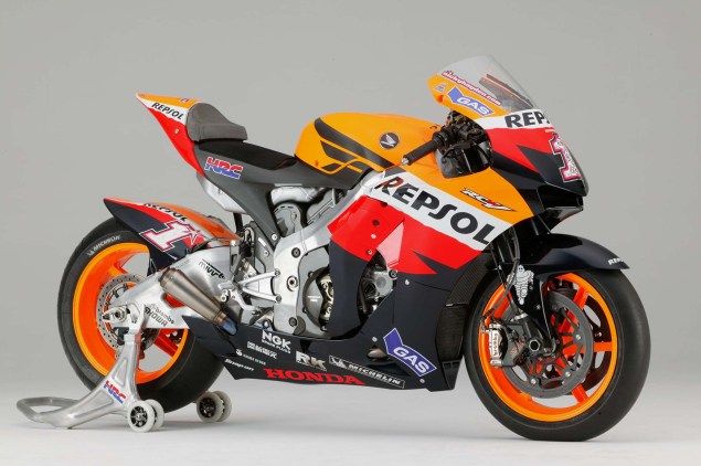 The Lineage of Hondas Grand Prix Motorcycles 2007 Honda RC212V Nicky Hayden 635x422