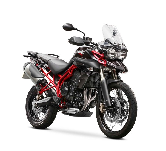 Triumph Expands Its Lineup in India   Hopes to Sell 1,000 Super Premium Motorcycles in 2014 2014 Triumph Tiger 800 XC SE 04 635x578