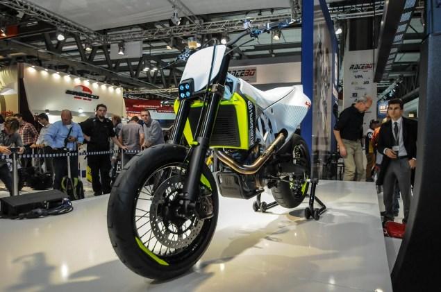 Photos: Husqvarna 701 Concept   A Future Supermoto? Husqvarna 701 Concept EICMA 12 635x421