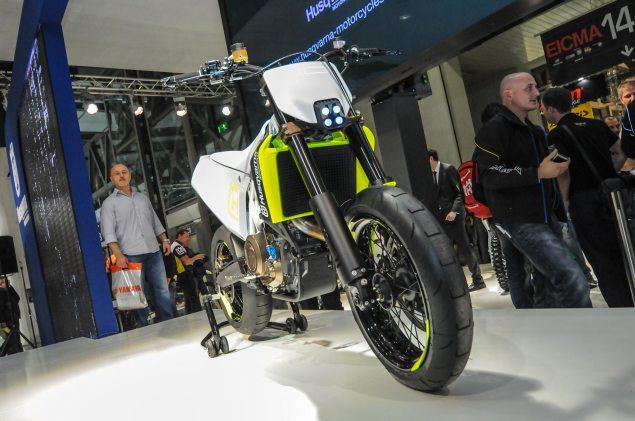 Photos: Husqvarna 701 Concept   A Future Supermoto? Husqvarna 701 Concept EICMA 13 635x421