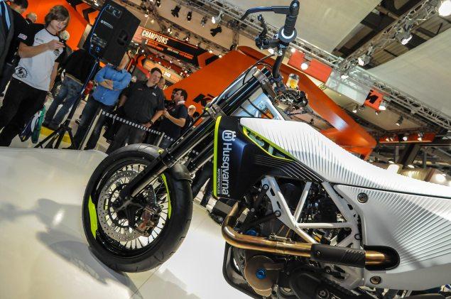 Photos: Husqvarna 701 Concept   A Future Supermoto? Husqvarna 701 Concept EICMA 8 635x421