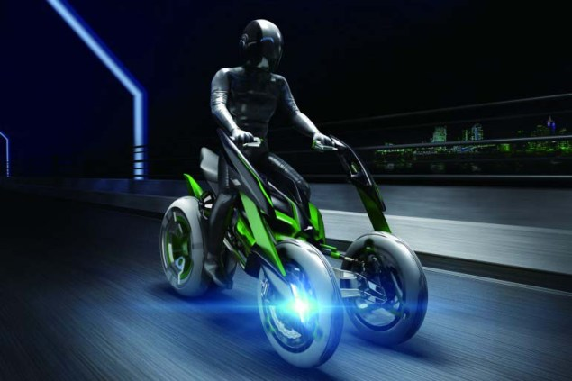 Watch the Kawasaki J Concept Transform Itself Kawasaki J Concept 04