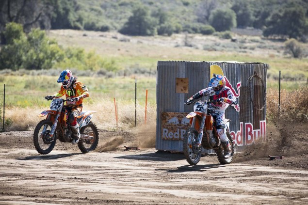 (L-R) Marvin Musquin and Ryan Dungey - Action