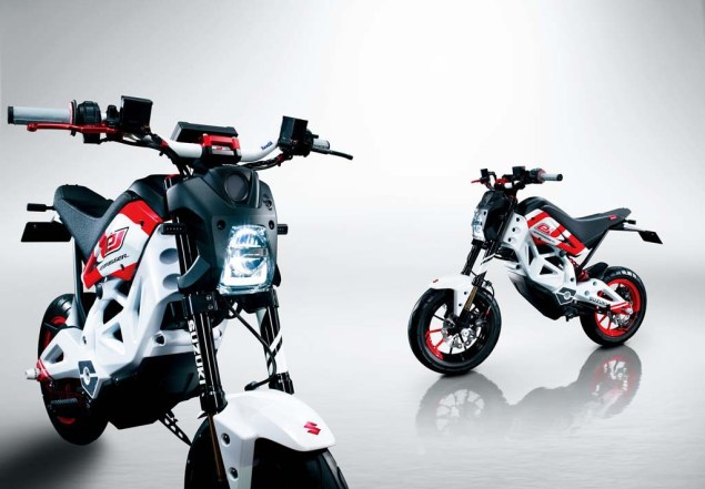 And More Photos of the Suzuki Extrigger Electric Concept Suzuki Extrigger electric concept 06