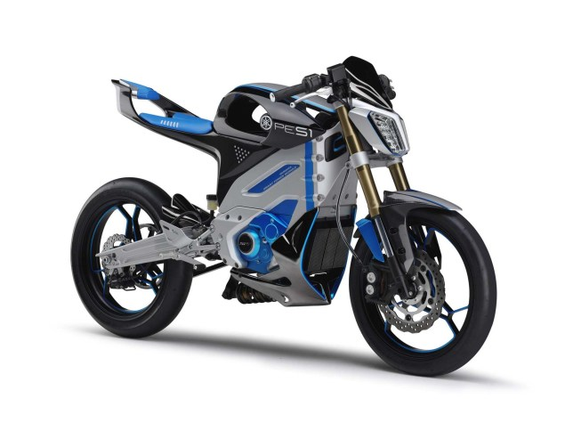Looks Like the Yamaha PES1 Electric Street Bike Is a Runner Yamaha PES1 electric concept 01 635x475