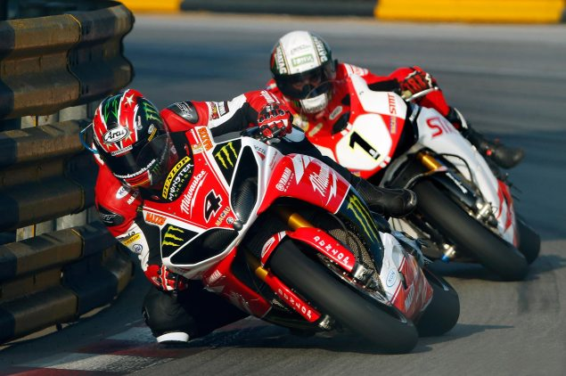 Ian Hutchinson Wins the 2013 Macau GP ian hutchinson michael rutter macau gp GCS 635x422