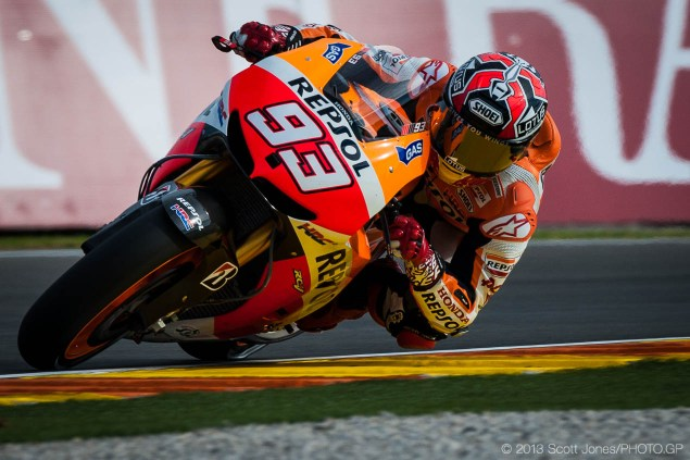 MotoGP: Qualifying Results from Valencia marc marquez valencia qualifying motogp scott jones 635x423