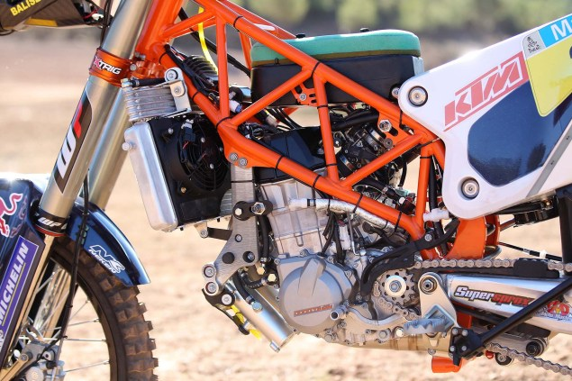 XXX: 13 Photos of the 2014 KTM 450 Rally Buck Naked 2014 KTM 450 Rally race bike 06 635x423