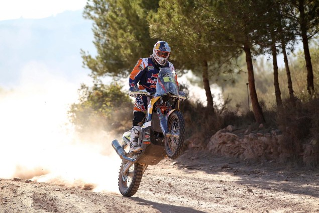Video: KTM Readies for the 2014 Dakar Rally 2014 KTM Dakar Rally Faria 05 635x423