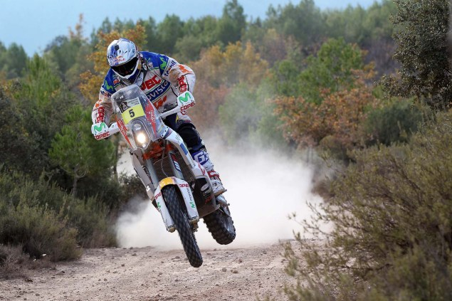 Video: KTM Readies for the 2014 Dakar Rally 2014 KTM Dakar Rally Lopez 02 635x423
