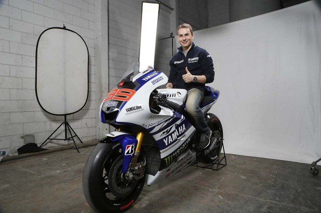 The 2014 Yamaha YZR M1 Breaks Cover in Indonesia 2014 Yamaha YZR M1 Livery 13 635x423